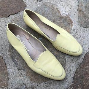 Salvatore Ferragamo Leather Loafers Size 10